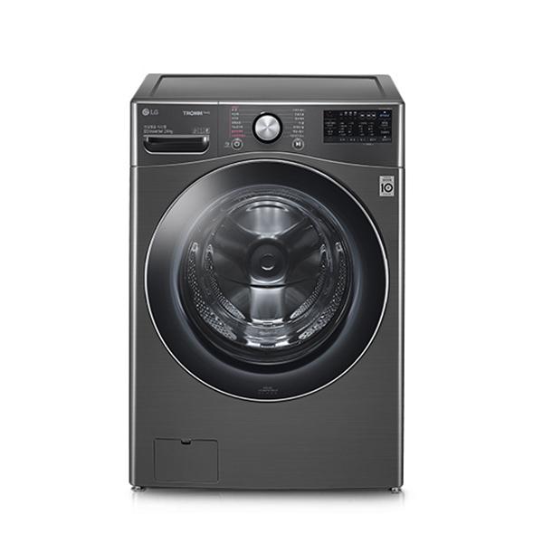 [LG] 트롬 드럼세탁기 24KG 블랙스테인리스
