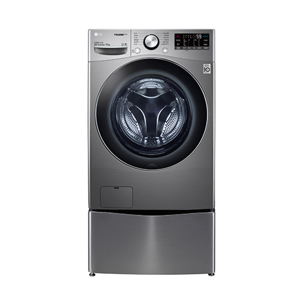 [LG] 트롬 트윈워시 드럼세탁기 15KG 스톤실버
