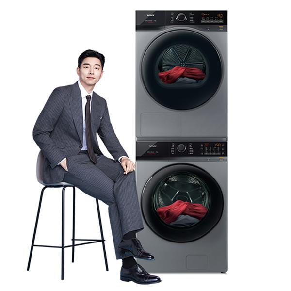 [위닉스 결합 A세트] 텀블세탁기 23kg+텀블건조기 17kg 메탈릭그레이