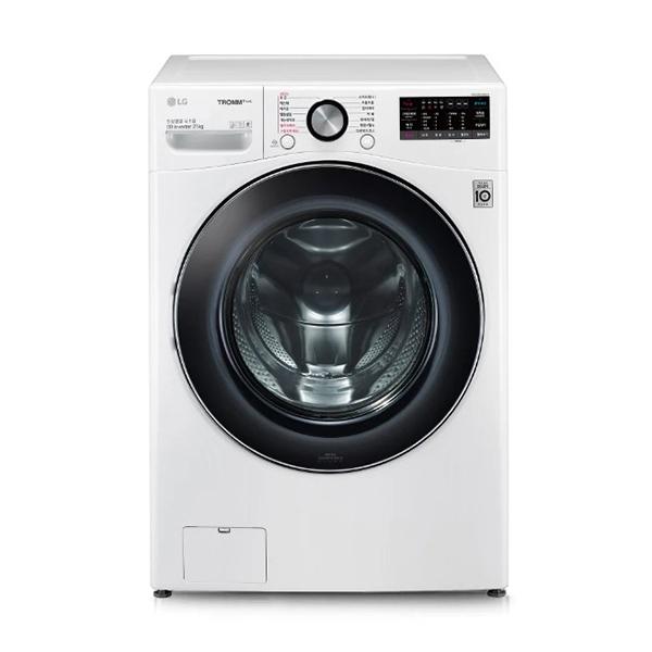 [LG] 트롬 ThinQ 드럼세탁기 화이트 21kg