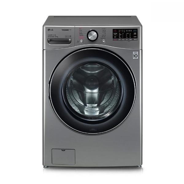 [LG] 트롬 ThinQ 드럼세탁기 실버 21kg