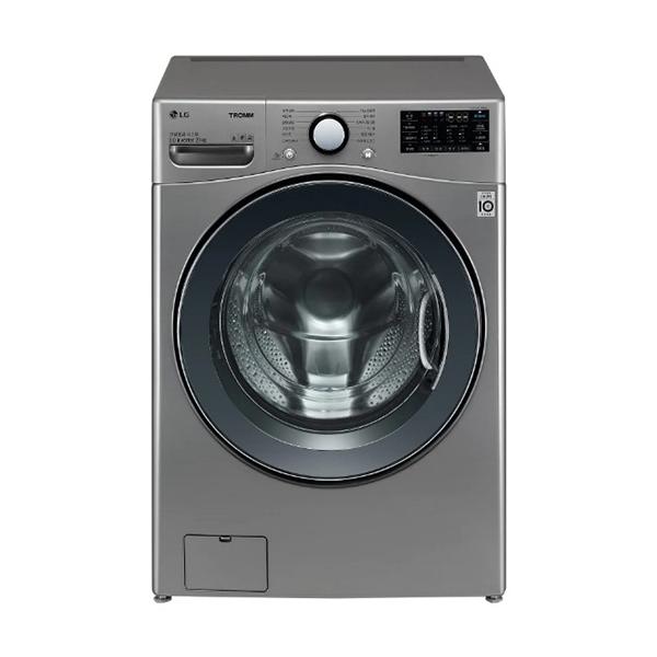 [LG] 트롬 ThinQ 드럼세탁기 모던스테인리스 21kg