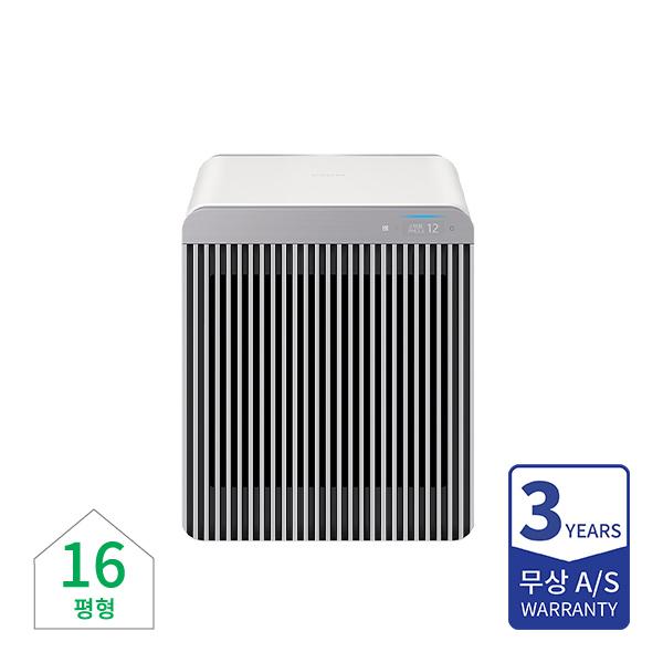 [삼성] 비스포크 공기청정기 무풍큐브 에어 그레이 16평