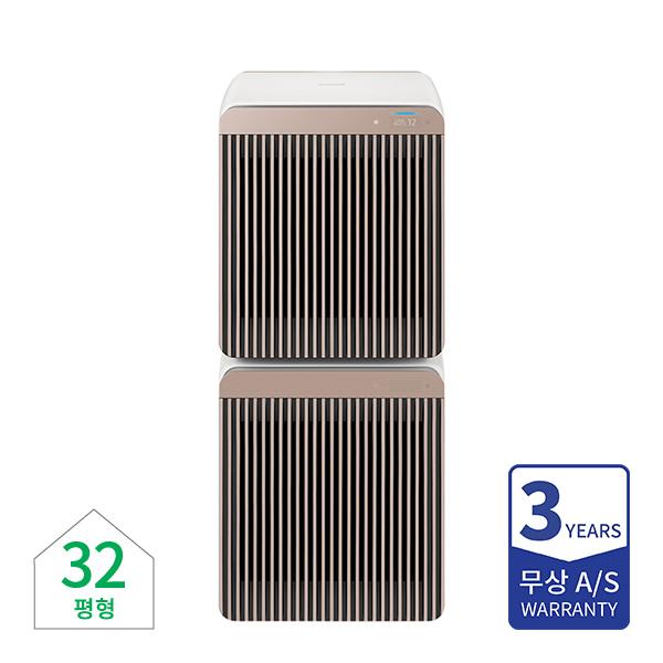[삼성] 비스포크 공기청정기 무풍큐브 에어 베이지 32평