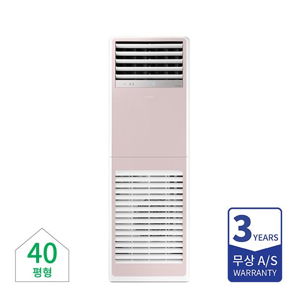 [삼성] 비스포크 인버터 냉난방기 스탠드 40평형 핑크 380V