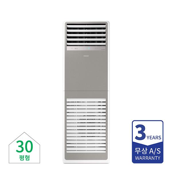 [삼성] 비스포크 인버터 냉난방기 스탠드 30평형 그레이 380V